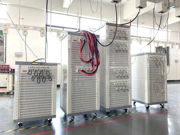 测试仪老化区-1-新威电池充放电测试柜